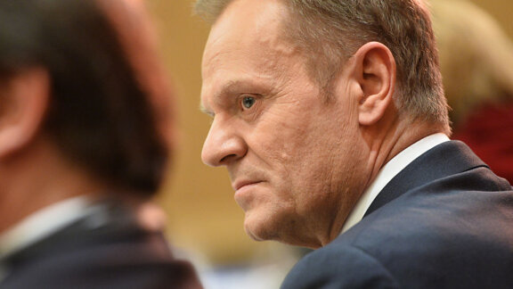 PiS will back Donald Tusk