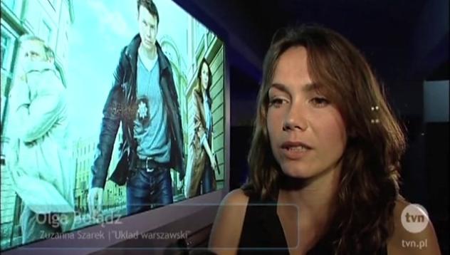 Olga Bołądź o swoim udziale w serialu