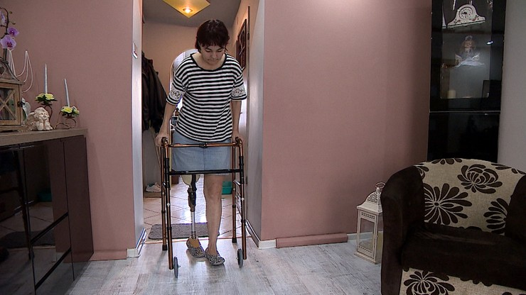 Lekarz odesłał kobietę do domu. Kilka dni później trzeba było amputować jej nogę