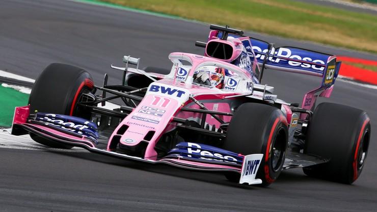 Koronawirus w F1: Nico Huelkenberg za Sergio Pereza w GP Wielkiej Brytanii