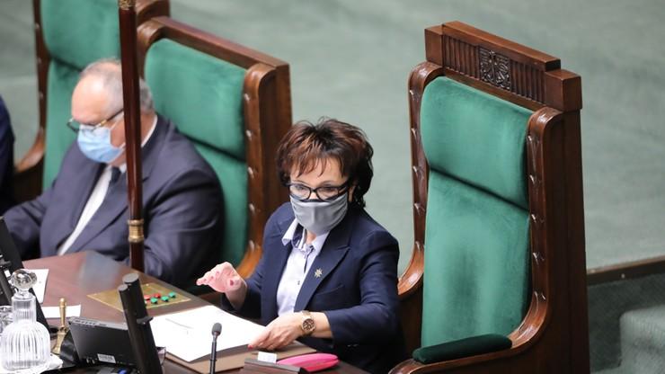Marszałek Sejmu: Czarzasty nie został pobity