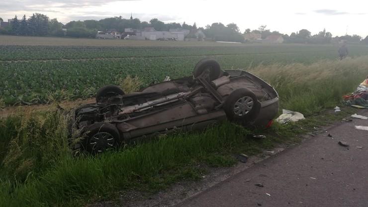 Wypadek w Wielkopolsce. Rannych siedem osób