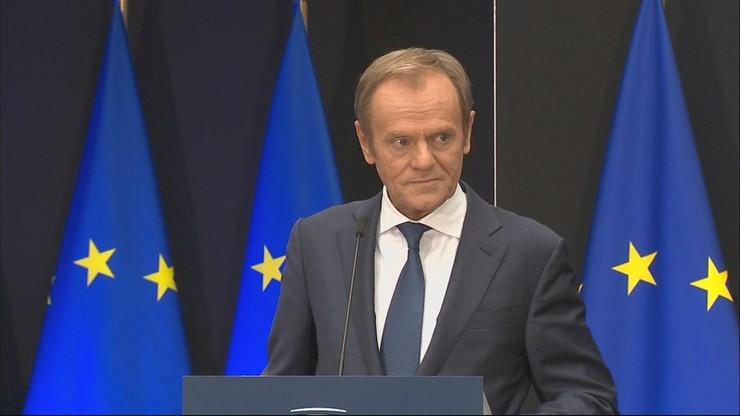 """Tusk żegna się z Brukselą. """"Scenariusz mojej kadencji był napisany przez Hitchcocka"""""""