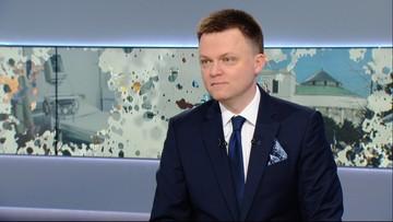 Hołownia o spocie z brzozą: to miał być protest przeciwko upolitycznianiu Smoleńska