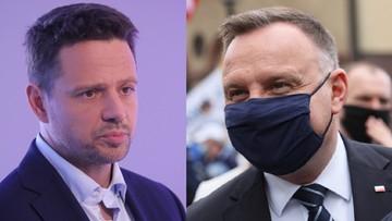 Nowy sondaż prezydencki. Jaki wynik pojedynku Trzaskowski vs. Duda?