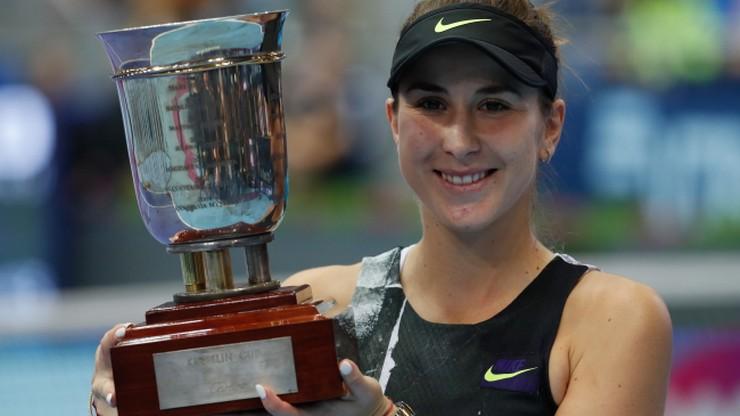 Rankingi WTA: Bencic awansowała na siódme miejsce, Barty liderką