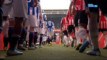 PSV Eindhoven - Heerenveen 2:1. Skrót meczu