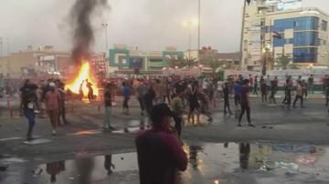 W antyrządowych protestach w Iraku zginęły już co najmniej 73 osoby