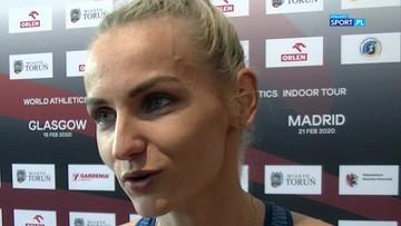Święty-Ersetic: Trener powtarzał, że jestem gotowa na rekord Polski