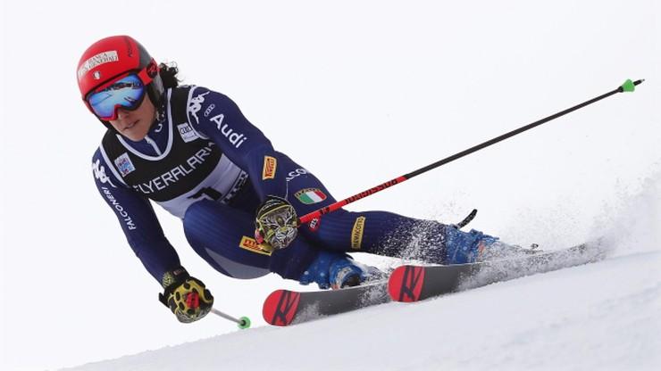 Alpejski PŚ: Brignone zwyciężyła w gigancie w Courchevel