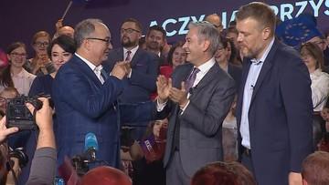 """""""Biedroń to progresywny kandydat"""" vs. """"przepychanka wewnątrz Lewicy"""""""
