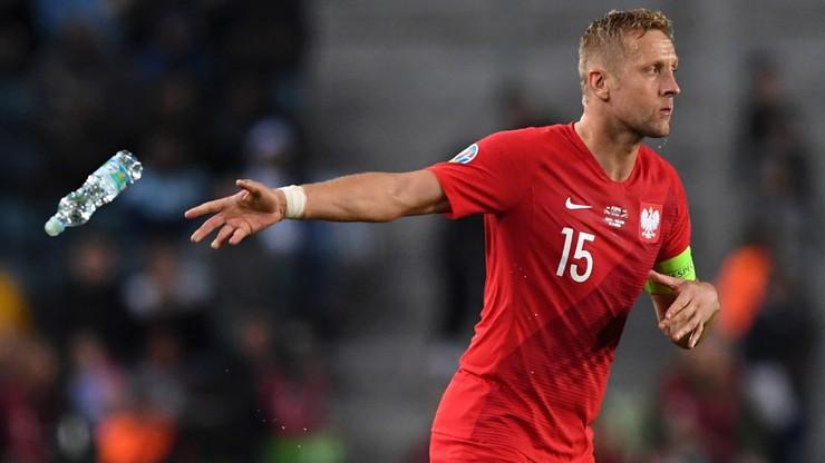 Kamil Glik ma złamany nos. Obrońca stracił przytomność w meczu ze Słowenią [WIDEO]