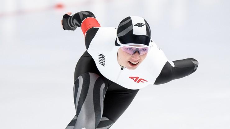MŚ w łyżwiarstwie szybkim: Rekord życiowy Bosiek na 1000 metrów