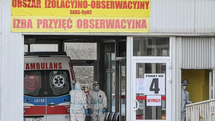 Nowe przypadki koronawirusa w Polsce. Dane ministerstwa, 22 listopada