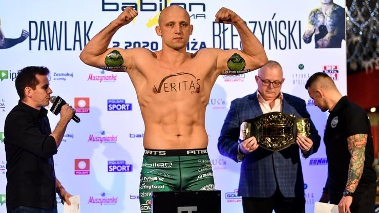 Babilon MMA 14: Karta walk