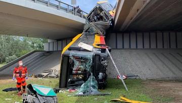 Wypadek autobusu w Warszawie. Ratusz chce zmiany przepisów