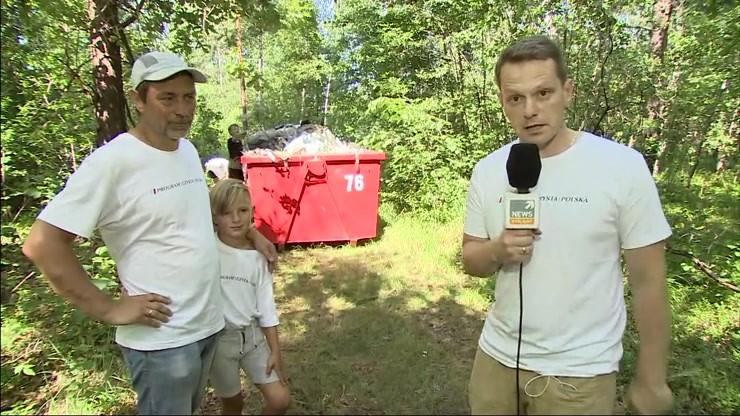 Sprzątamy lasy ze stowarzyszeniem Program Czysta Polska
