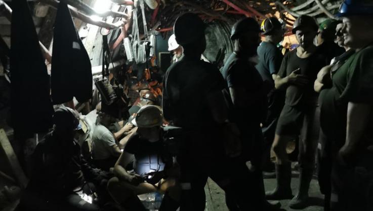 Podziemny protest górników. Akcja w 13 kopalniach