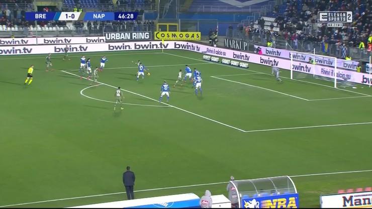 Brescia - Napoli 1:2. Skrót meczu [ELEVEN SPORTS] - Polsat Sport