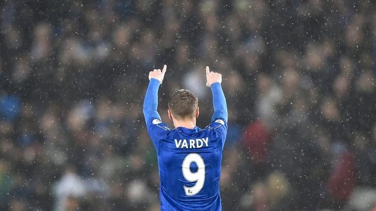 Premier League: Ósma z rzędu wygrana Leicester City. Vardy goni rekord