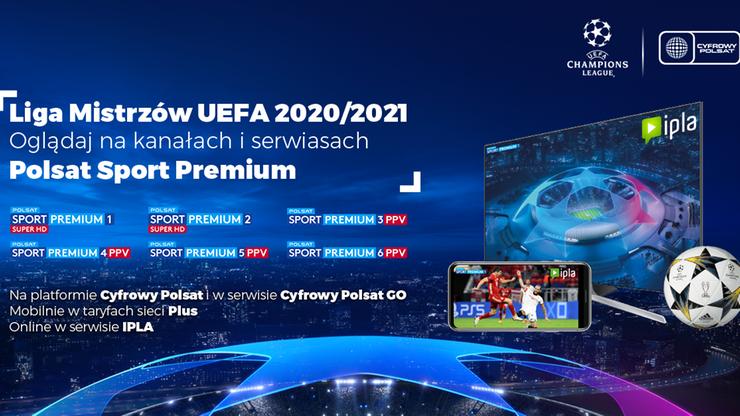 Trzeci rok z Ligą Mistrzów i Ligą Europy UEFA w Telewizji Polsat