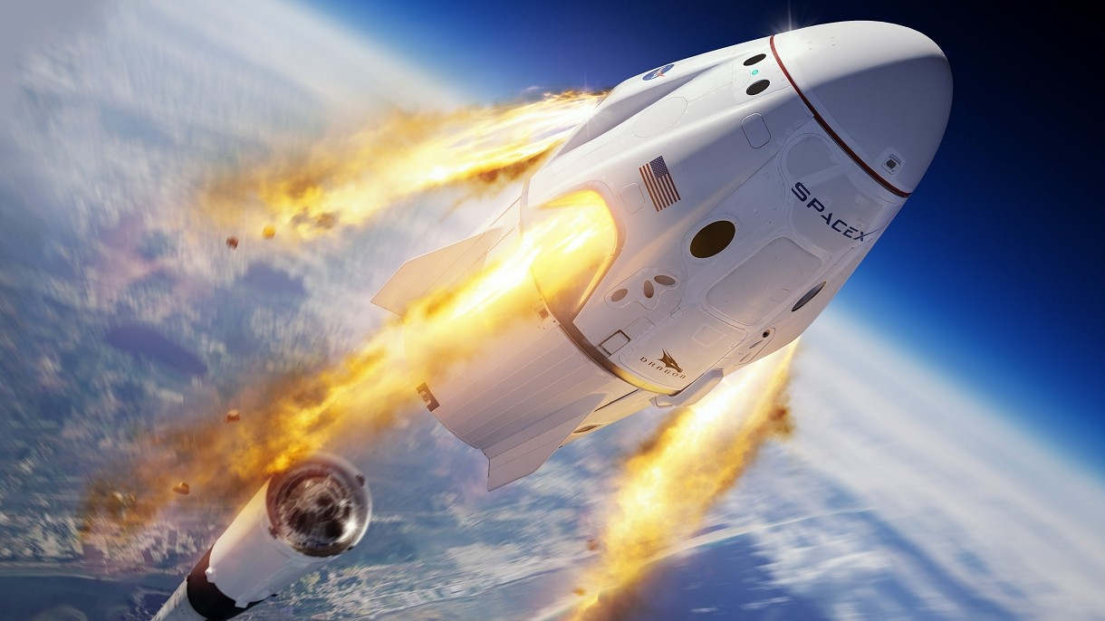 NASA zachęca Rosjan do lotu w kosmos kapsułą od amerykańskiej firmy SpaceX