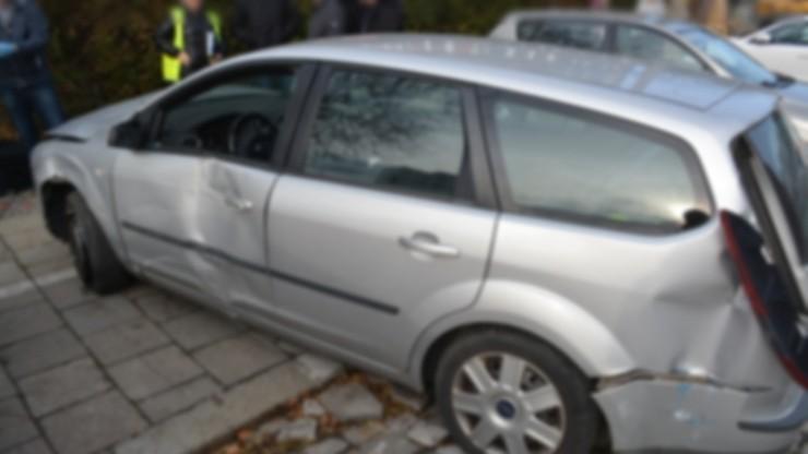 Areszt dla kierowcy, który wjechał na przystanek we Wrocławiu i uciekł
