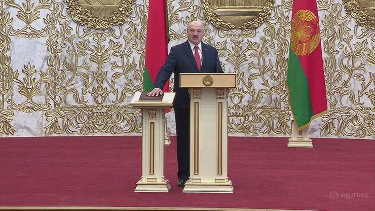 """Odbyła się inauguracja prezydenta Białorusi. """"To dzień zwycięstwa"""""""