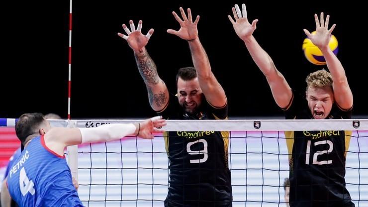 Kwalifikacje olimpijskie siatkarzy: Niemcy - Słowenia. Transmisja w Polsacie Sport Extra