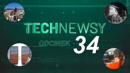 Zobacz TechNewsy odcinek 34 - filmowy przegląd najciekawszych wiadomości