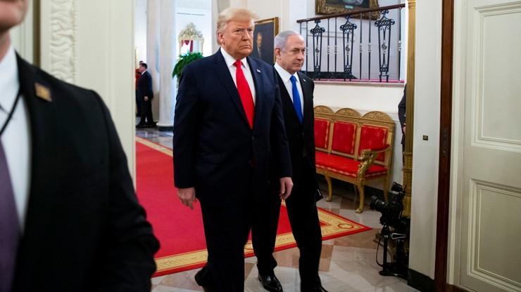 Pokojowy plan dla Bliskiego Wschodu. Trump wzywa do utworzenia państwa Palestyna