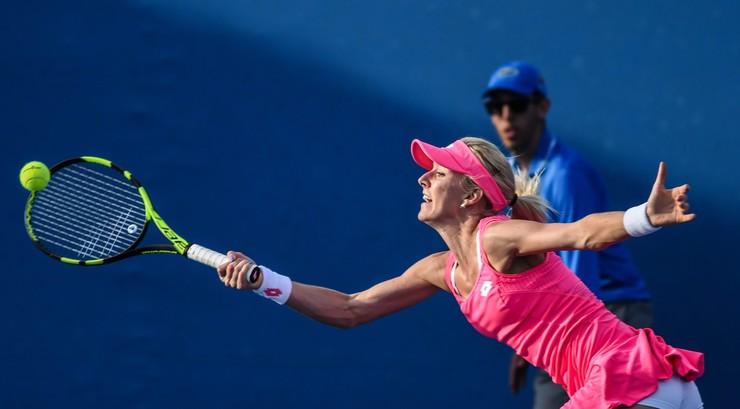 Radwańska: Cibulkova i Becker to wielkie gwiazdy. Cieszę się, że mogę być w takim towarzystwie - Polsat Sport