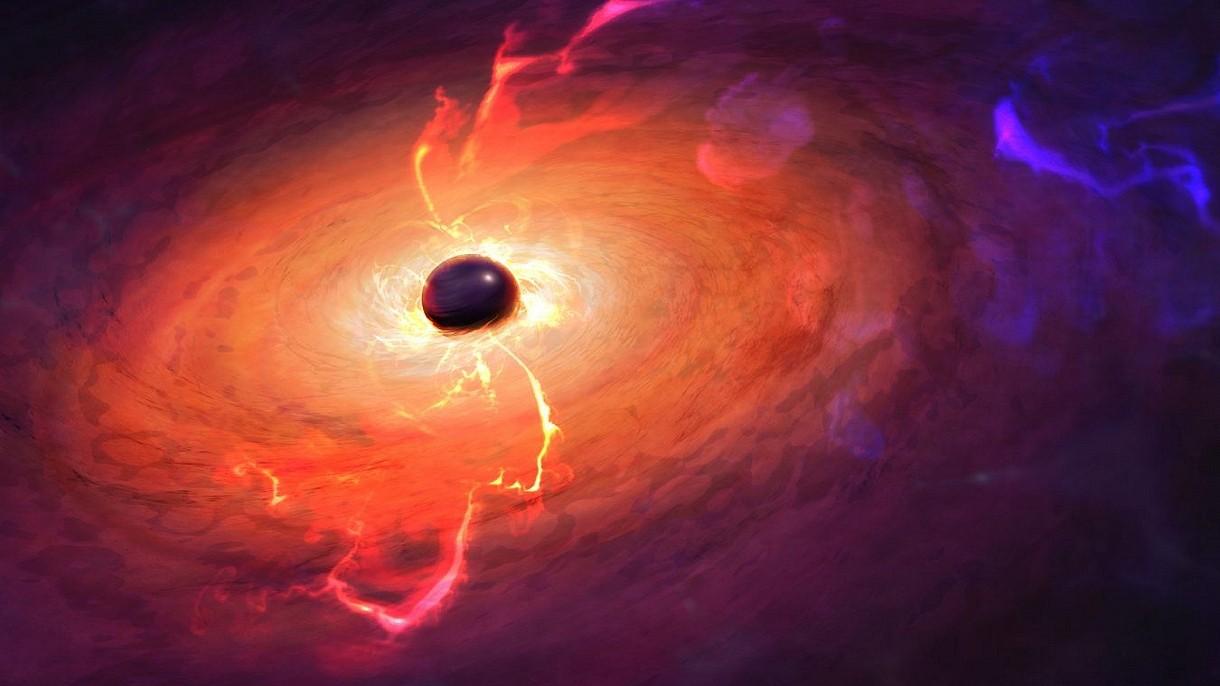 Oto pierwszy w historii film, na którym czarna dziura pożera otaczającą ją materię [FILM]