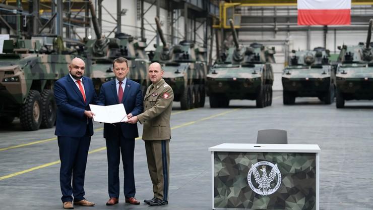Błaszczak: 6,8 mld zł wynosi wartość zamówień dla przemysłu zbrojeniowego