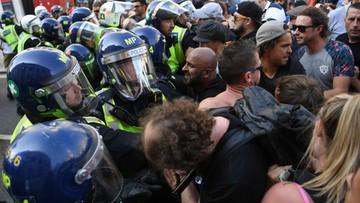 Starcia z policją w Londynie. Protest przeciwko ograniczeniom