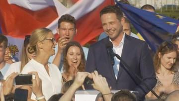 """Trzaskowski buduje ruch obywatelski, nową Solidarność. """"Zapisujcie się masowo"""""""