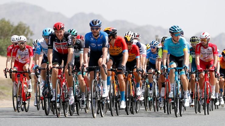 UAE Tour odwołane! Polscy kolarze czekają w hotelach na rozwój wydarzeń