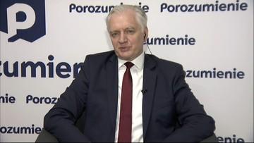 Jarosław Gowin ujawnił, czy wróci do rządu