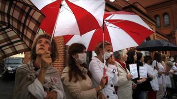 Białoruska milicja zatrzymała około 20 dziennikarzy. Wśród nich Polak