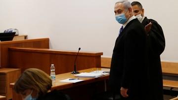 Premier na ławie oskarżonych. Proces Netanjahu odłożony