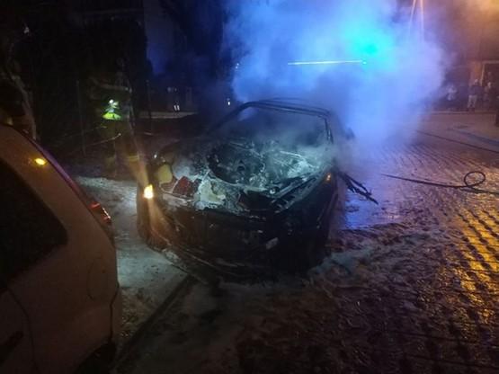 Maserati w ogniu