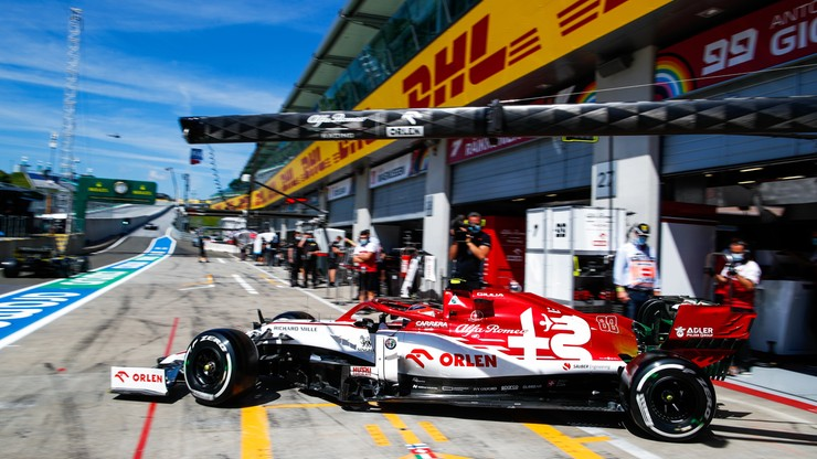 Formuła 1: Wyniki kwalifikacji przed Grand Prix Styrii