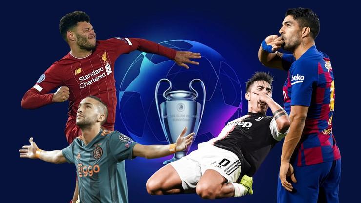 TOP10 bramek fazy grupowej Ligi Mistrzów