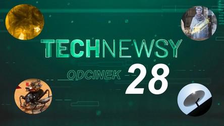 Zobacz TechNewsy odcinek 28 - filmowy przegląd najciekawszych wiadomości