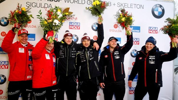 PŚ i ME w bobslejach: W Siguldzie wygrali gospodarze