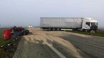 Dwie ofiary wypadku na Mazowszu. Bmw jechało pod prąd