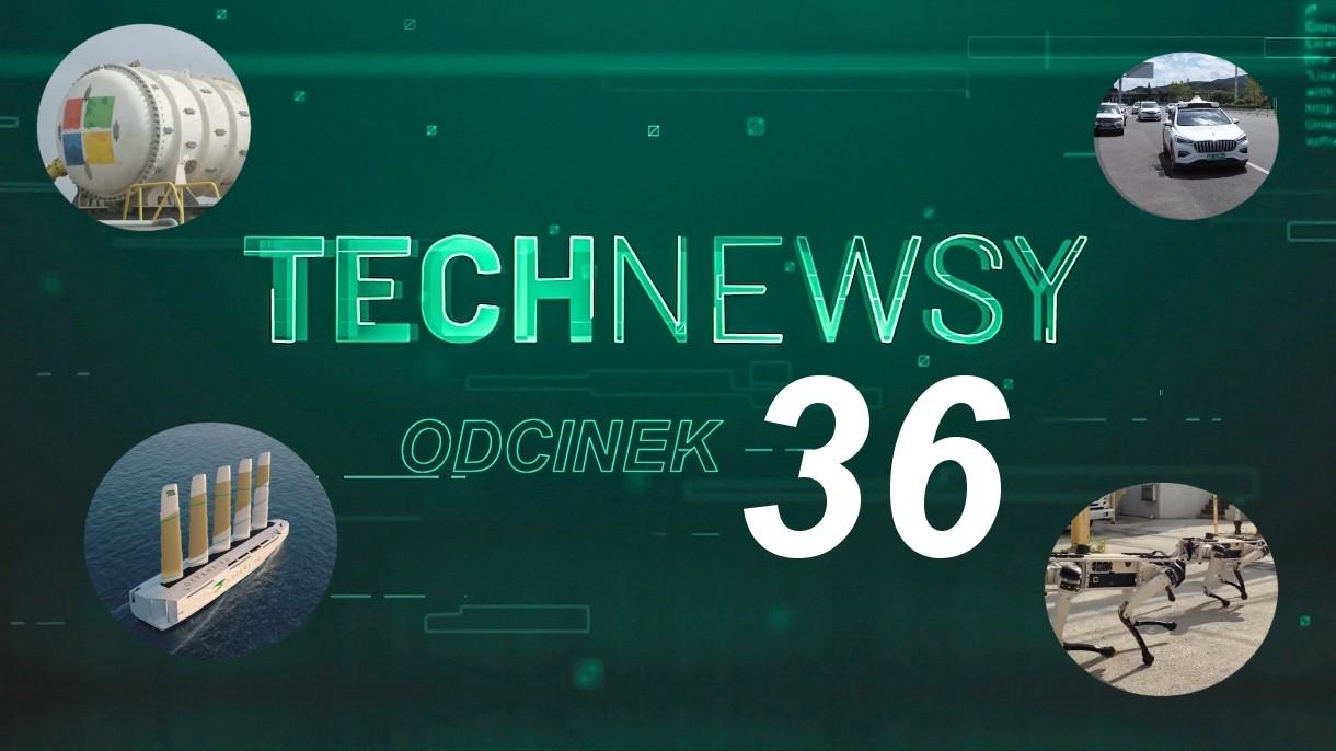 Zobacz TechNewsy odcinek 36 - filmowy przegląd najciekawszych wiadomości