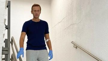 """Nawalny chce odzyskać z Rosji swoje ubranie. To """"niezbity dowód"""""""