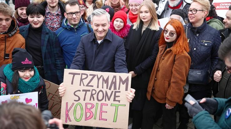 Biedroń: zagubiony prezydent Duda zmierza ku upadkowi