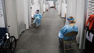 W USA ponad 2100 zgonów na Covid-19 w ciągu jednej doby. Taki rekord jeszcze nie padł